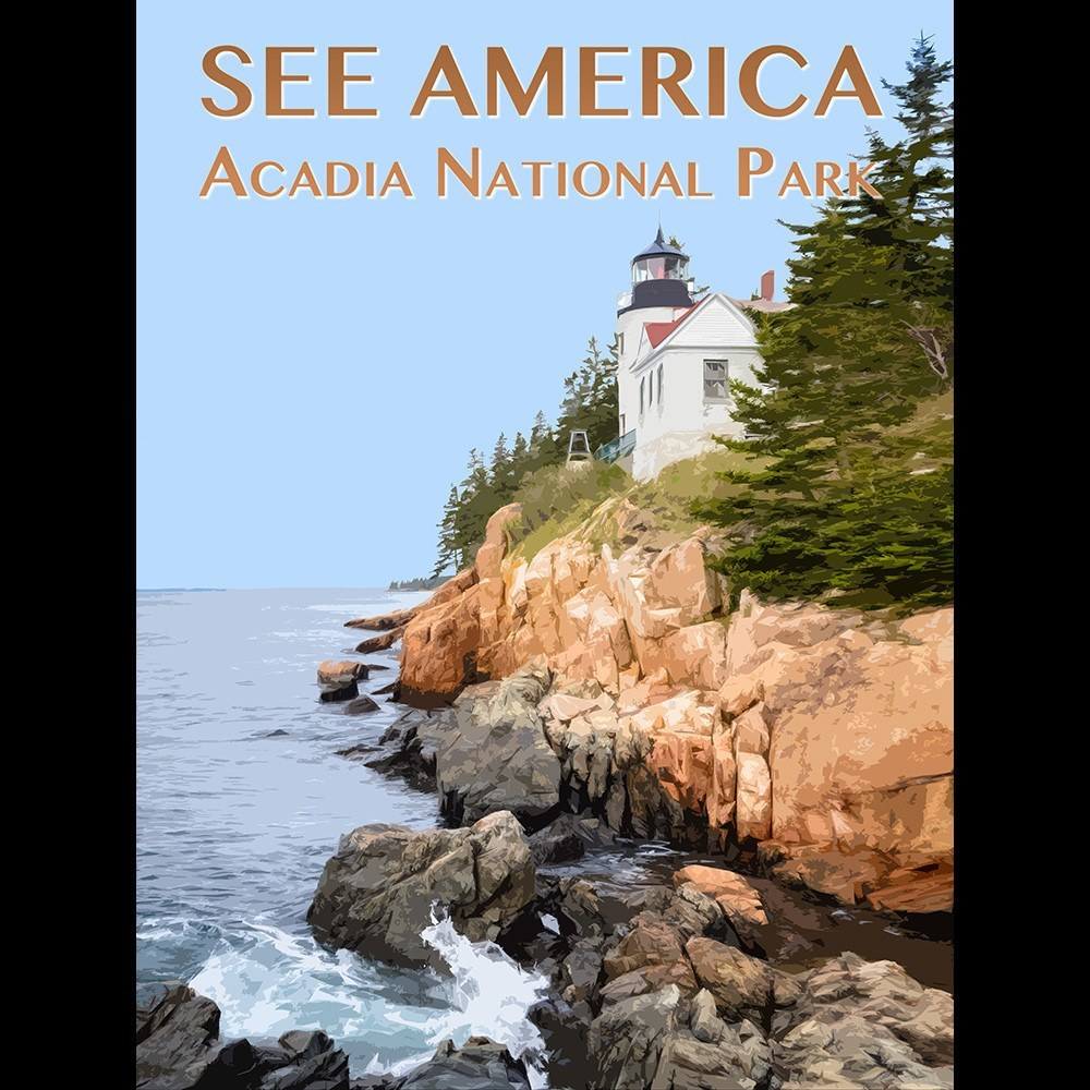 Acadia National Park by Zack Frank for See America - 3