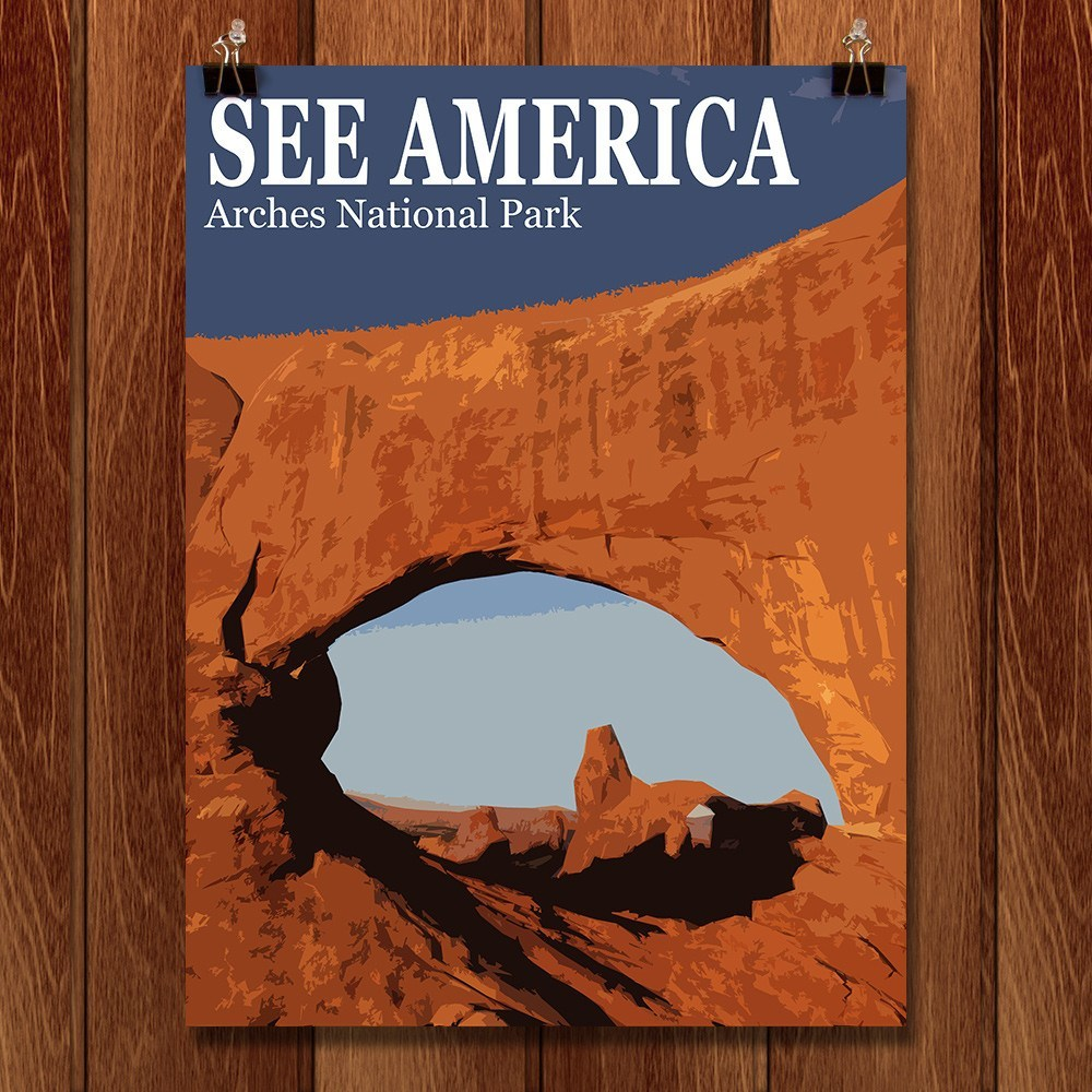 Arches National Park by Bill Vitiello for See America - 1