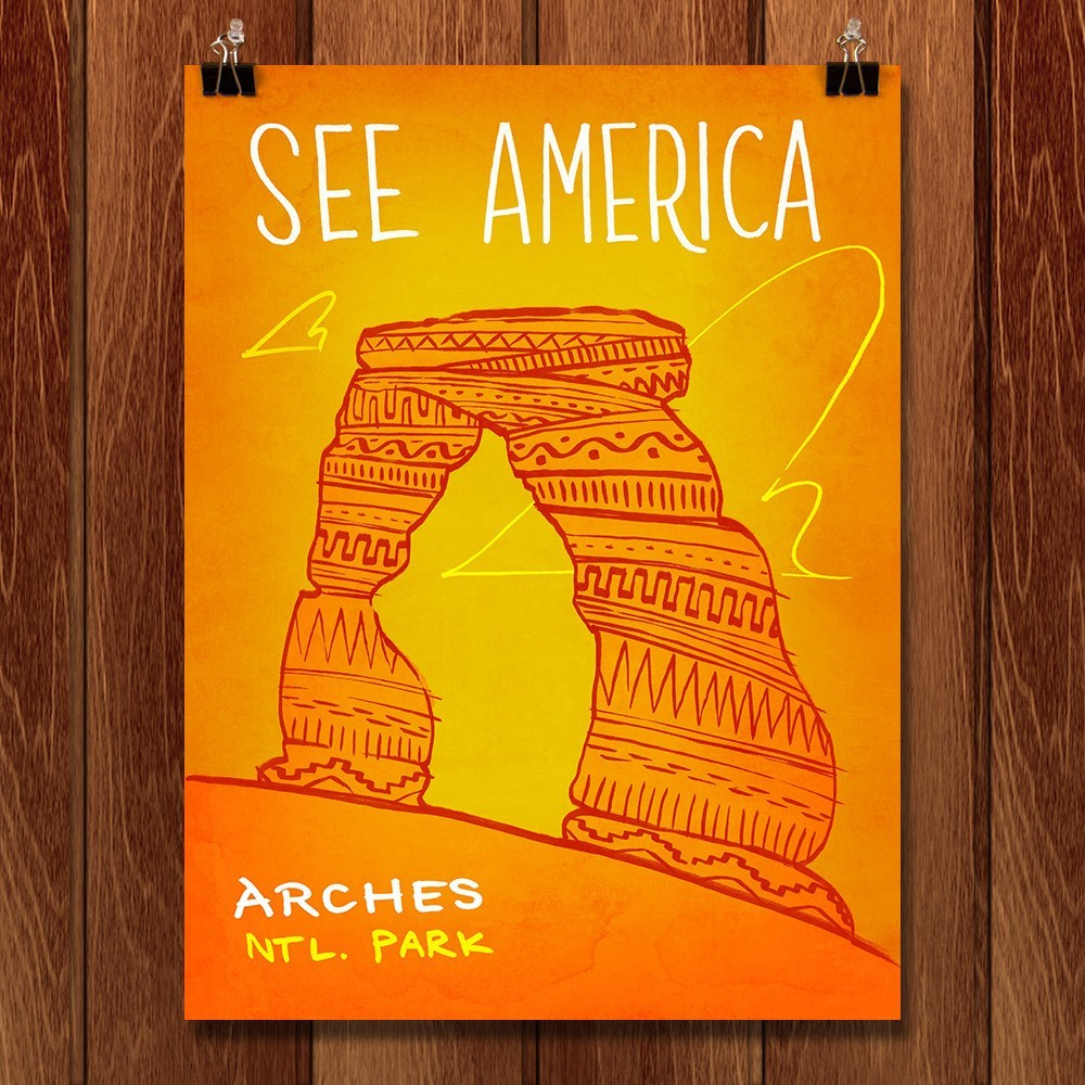 Arches National Park by Kendall for See America - 1