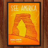 Arches National Park by Kendall for See America - 2