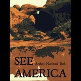 Arches National Park by Rendall M. Seely for See America - 3