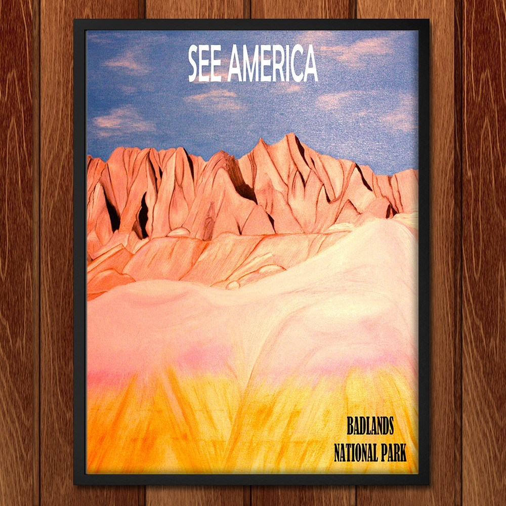 Badlands National Park by Bryan Bromstrup for See America - 2