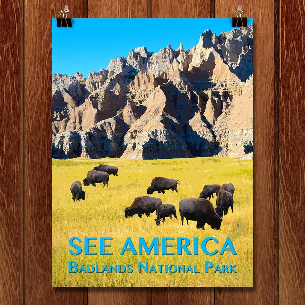 Badlands National Park by Zack Frank for See America - 1