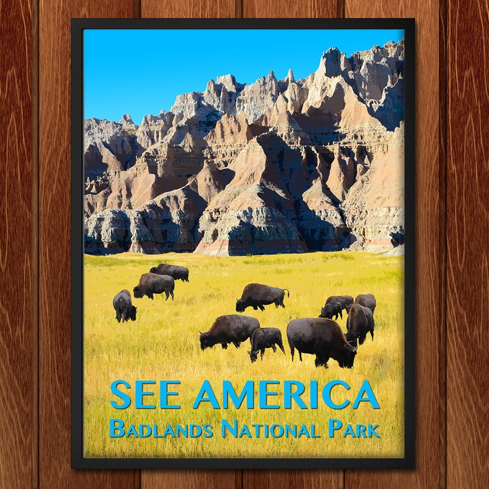 Badlands National Park by Zack Frank for See America - 2