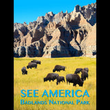 Badlands National Park by Zack Frank for See America - 3