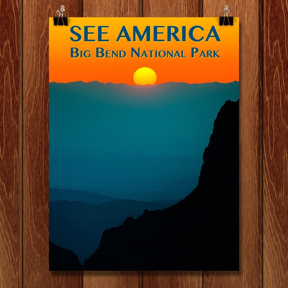 Big Bend National Park by Zack Frank for See America - 1