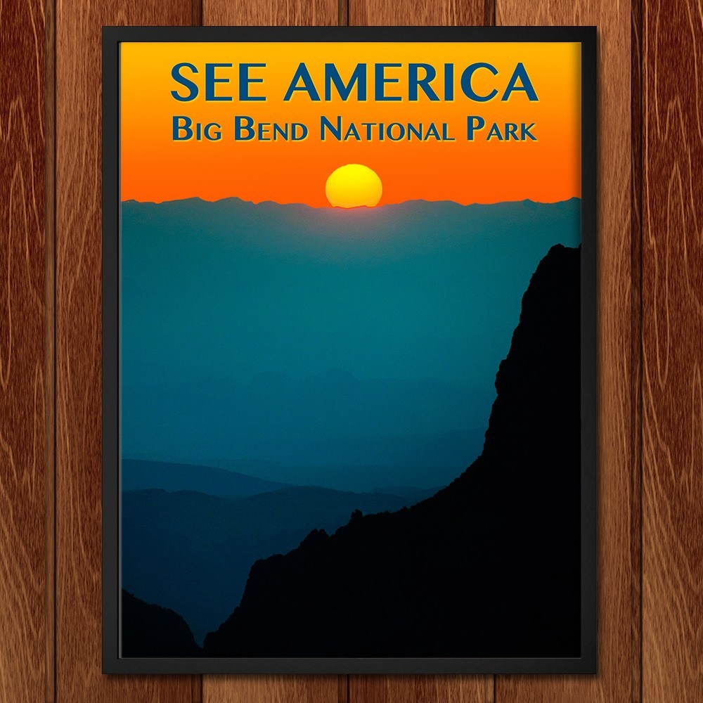 Big Bend National Park by Zack Frank for See America - 2