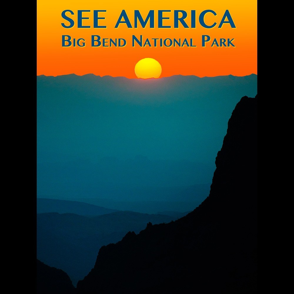 Big Bend National Park by Zack Frank for See America - 3