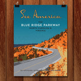 Blue Ridge Parkway by Ed Gaither for See America - 1
