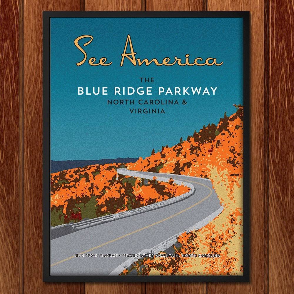 Blue Ridge Parkway by Ed Gaither for See America - 2