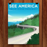 Blue Ridge Parkway by Jon Cain for See America - 1