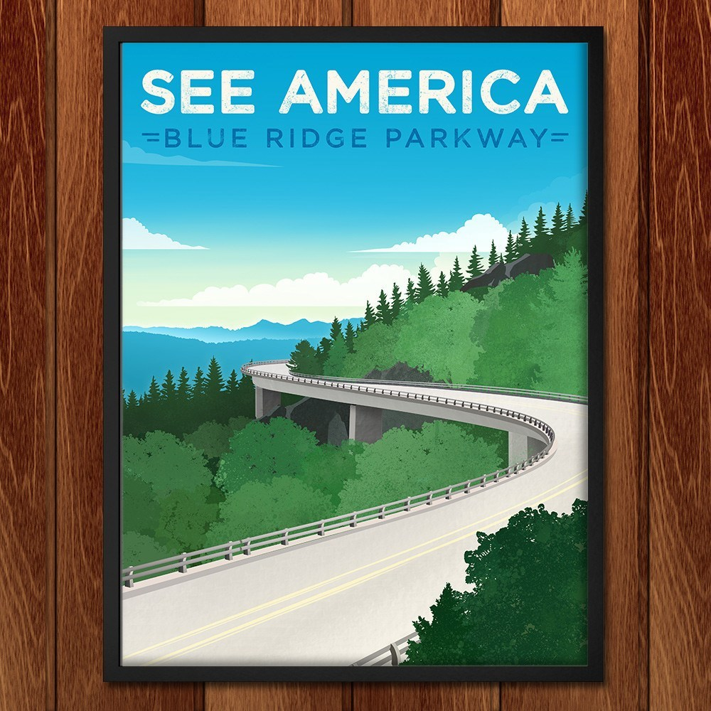 Blue Ridge Parkway by Jon Cain for See America - 2