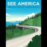 Blue Ridge Parkway by Jon Cain for See America - 3