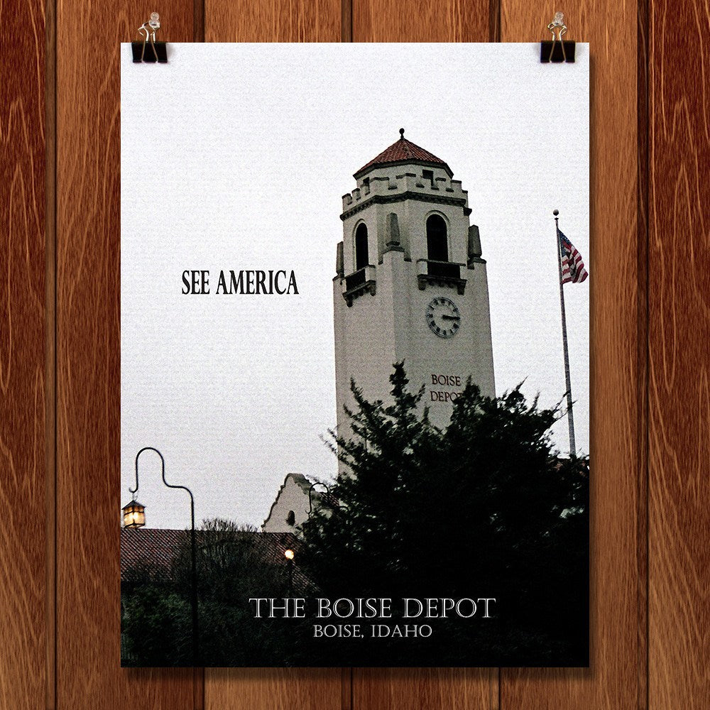 Boise Depot by D.G. Thompson for See America - 1