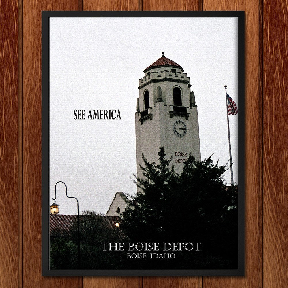 Boise Depot by D.G. Thompson for See America - 2