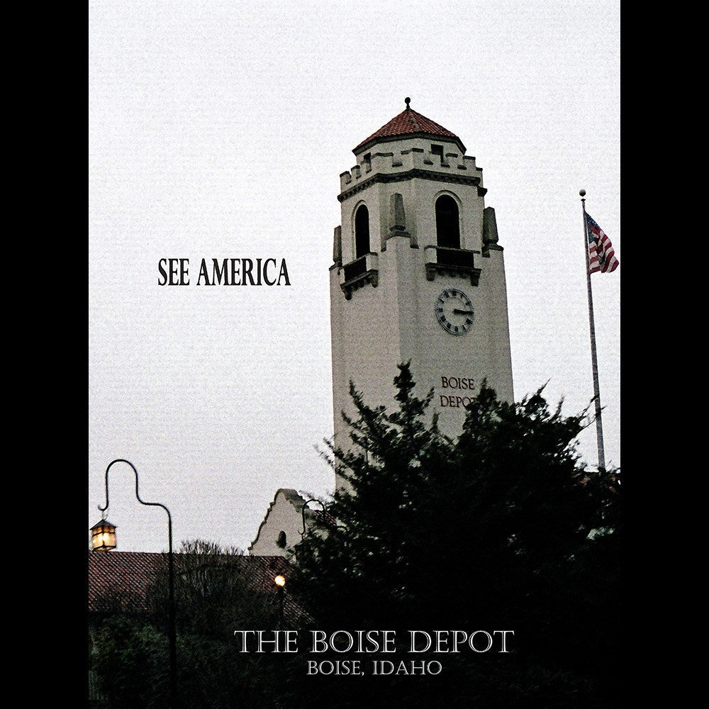 Boise Depot by D.G. Thompson for See America - 3