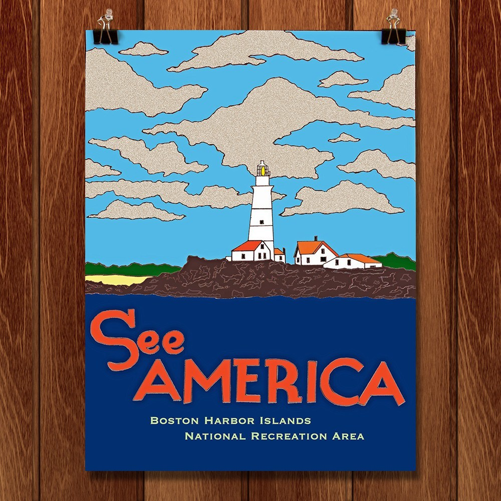 Boston Harbor Islands National Recreation Area by Joshua Sierra for See America - 1