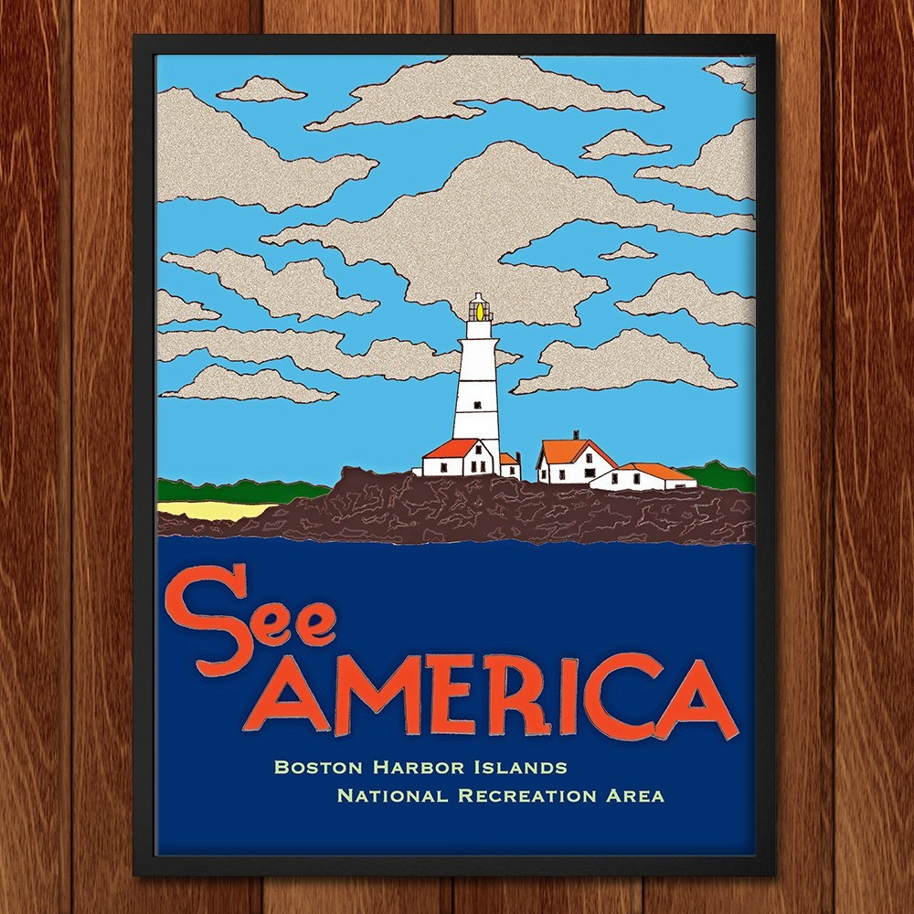 Boston Harbor Islands National Recreation Area by Joshua Sierra for See America - 2