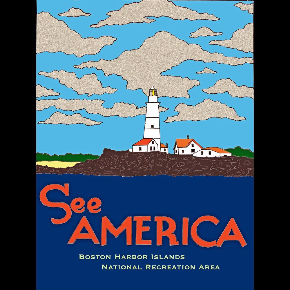 Boston Harbor Islands National Recreation Area by Joshua Sierra for See America - 3