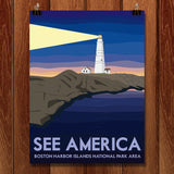 Boston Harbor Islands National Recreation Area by Liz Cook for See America - 1