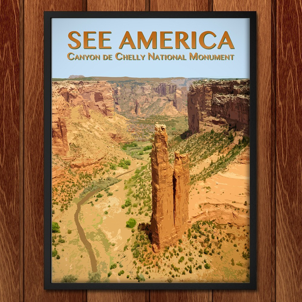 Canyon de Chelly National Monument by Zack Frank for See America - 2