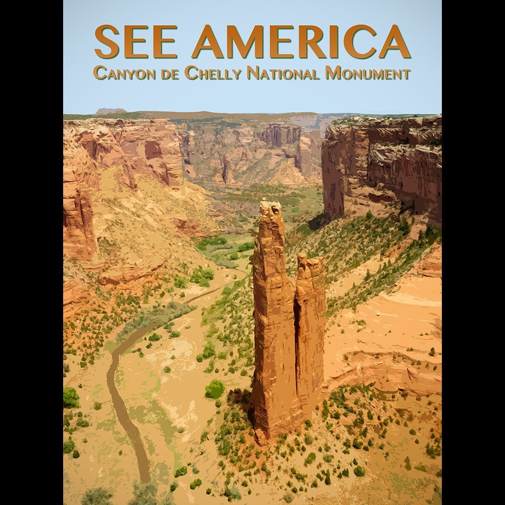 Canyon de Chelly National Monument by Zack Frank for See America - 3