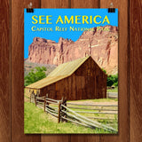 Capitol Reef National Park by Zack Frank for See America - 1