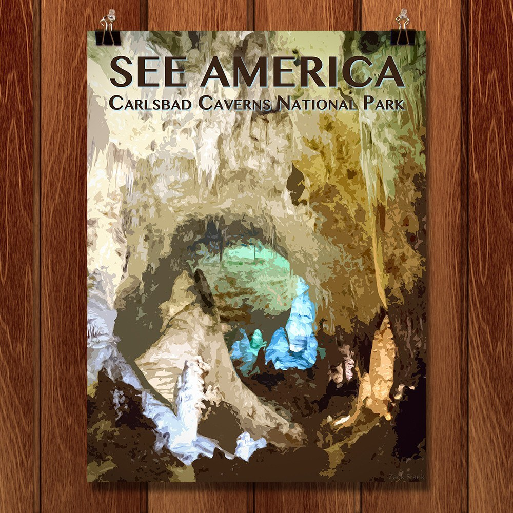 Carlsbad Caverns National Park by Zack Frank for See America - 1