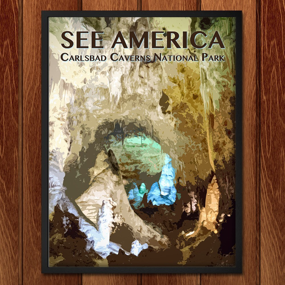Carlsbad Caverns National Park by Zack Frank for See America - 2