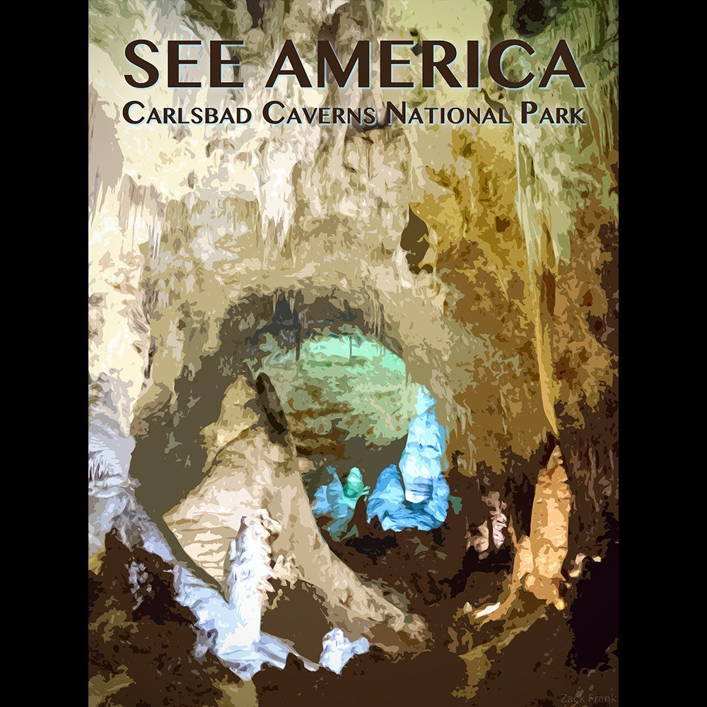 Carlsbad Caverns National Park by Zack Frank for See America - 3