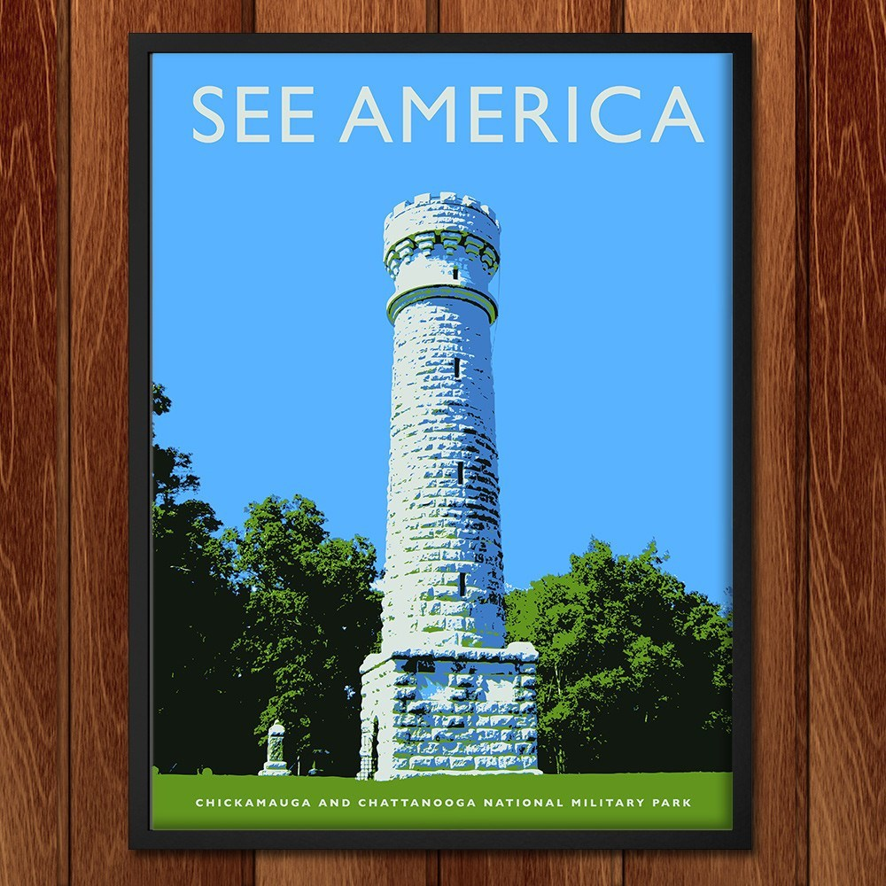 Chickamauga and Chattanooga National Military Park by Darrell Stevens for See America - 2