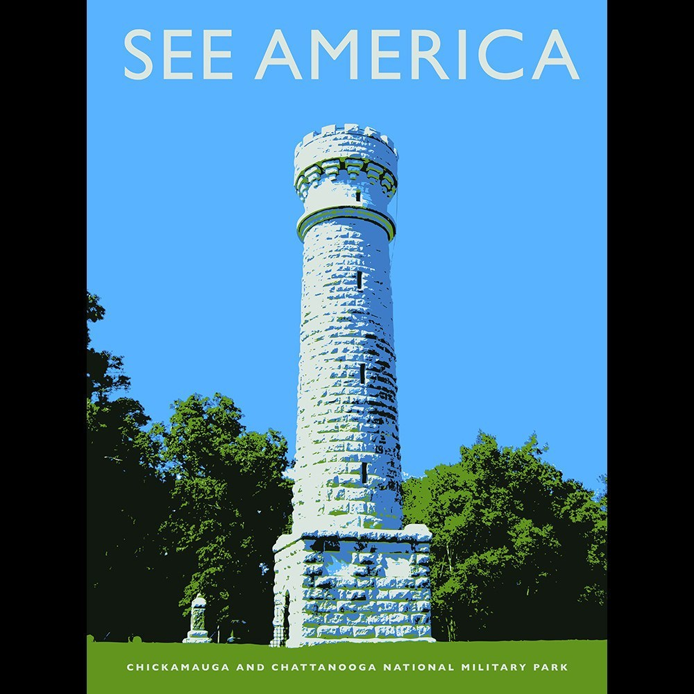 Chickamauga and Chattanooga National Military Park by Darrell Stevens for See America - 3