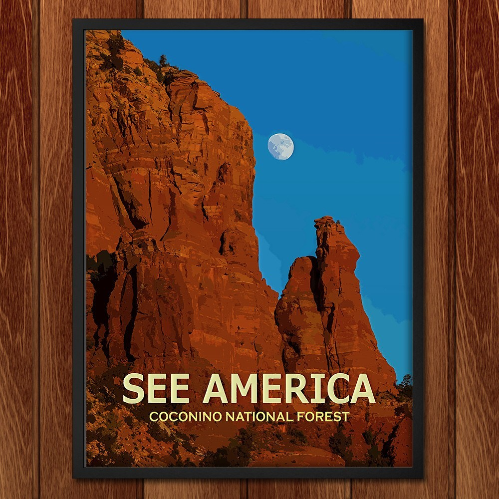 Coconino National Forest by Ed Gleichman for See America - 2