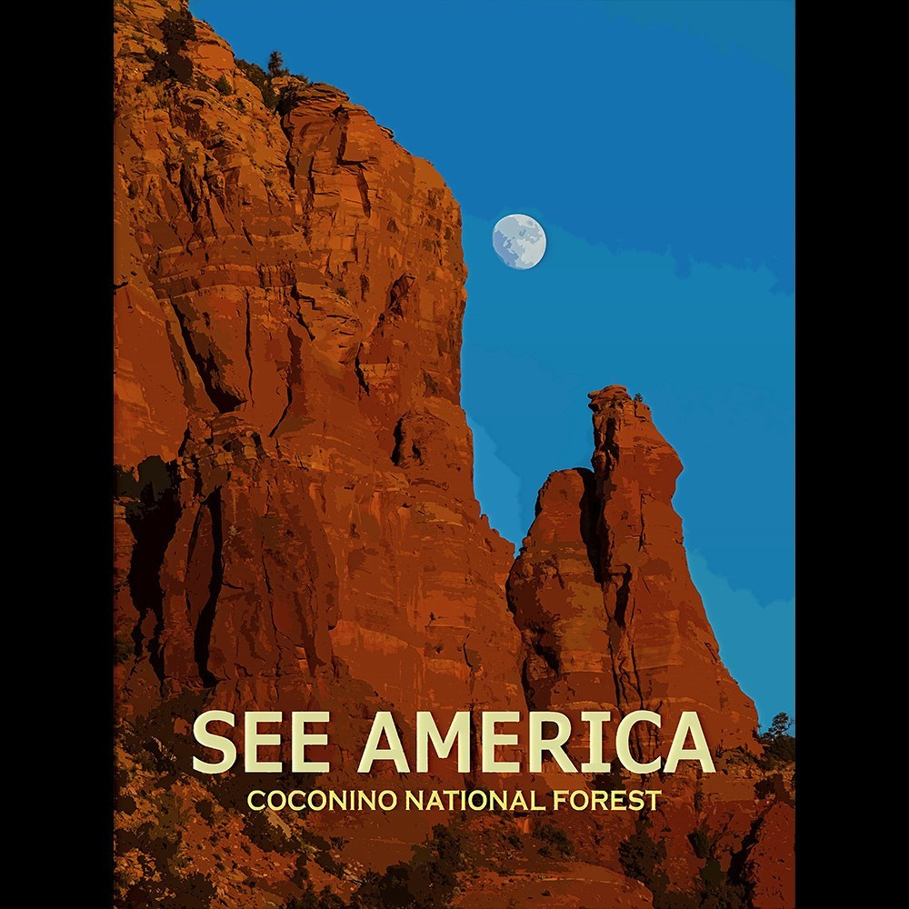 Coconino National Forest by Ed Gleichman for See America - 3