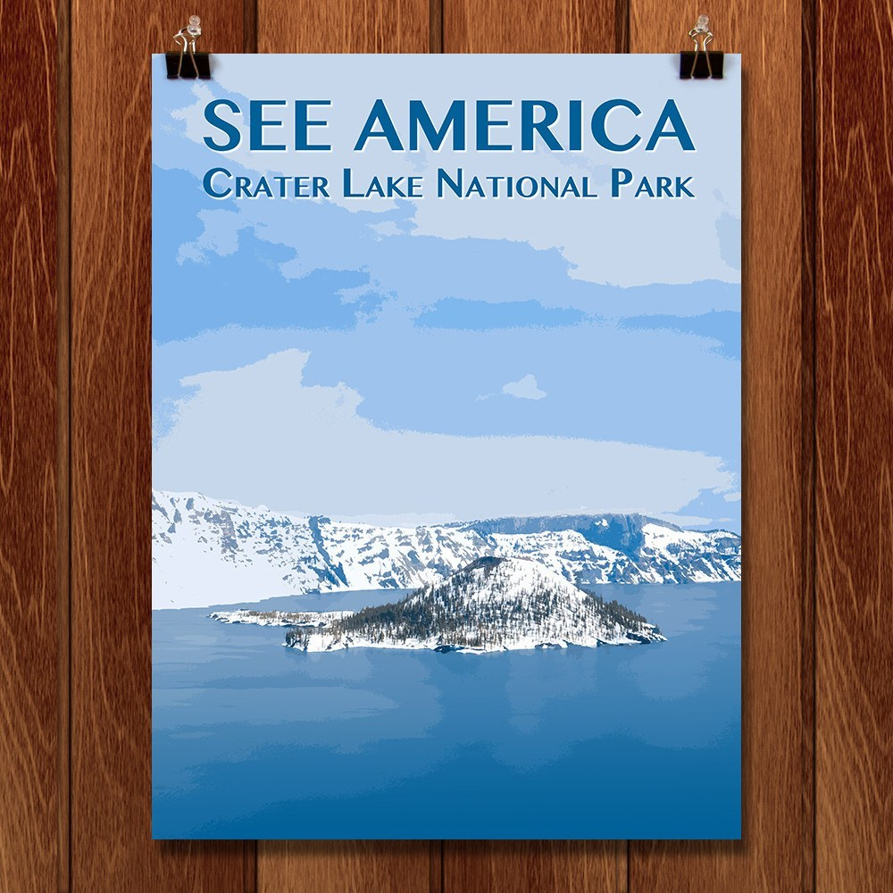 Crater Lake National Park by Zack Frank for See America - 1