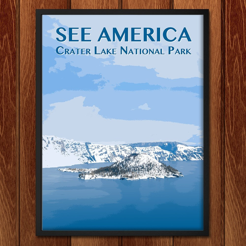 Crater Lake National Park by Zack Frank for See America - 2