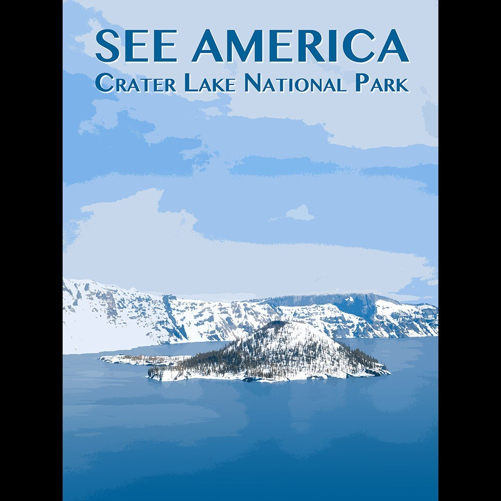 Crater Lake National Park by Zack Frank for See America - 3