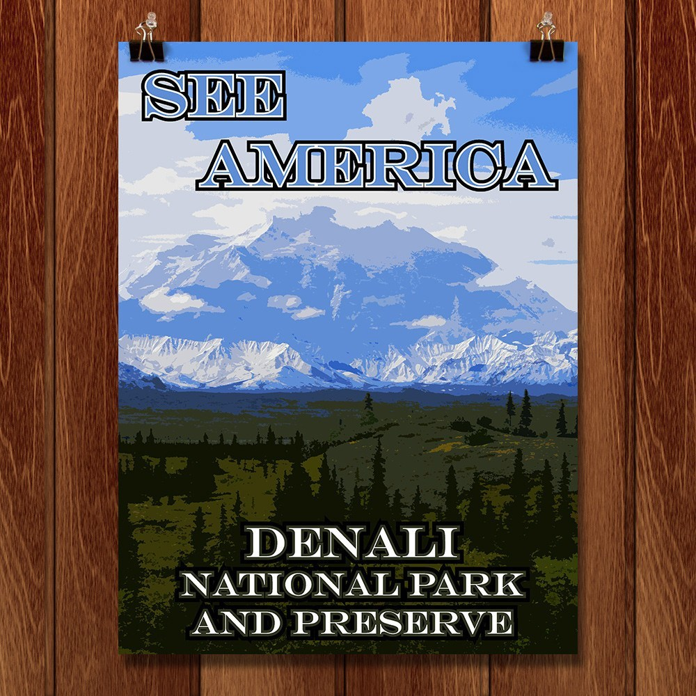 Denali National Park and Preserve by Eitan S. Kaplan for See America - 1