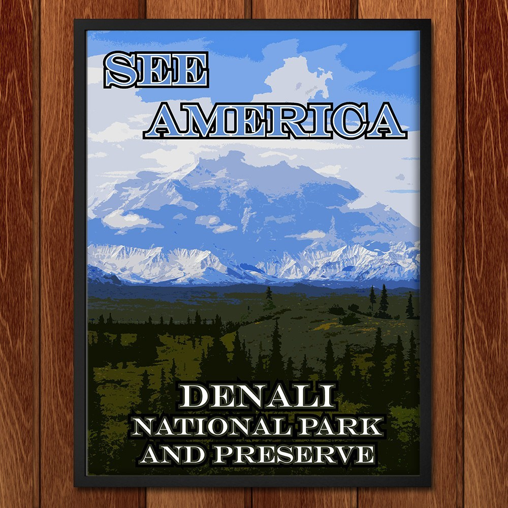 Denali National Park and Preserve by Eitan S. Kaplan for See America - 2