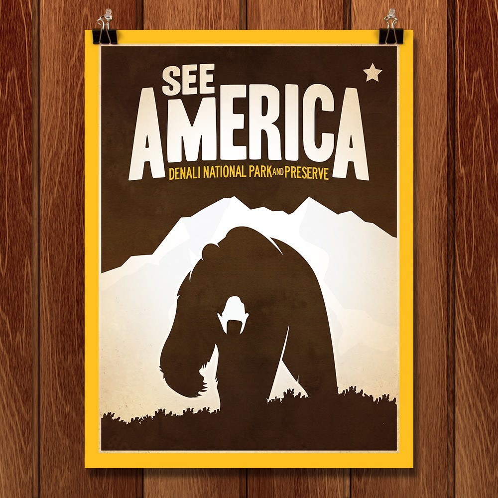 Denali National Park and Preserve by Matt Brass for See America - 1