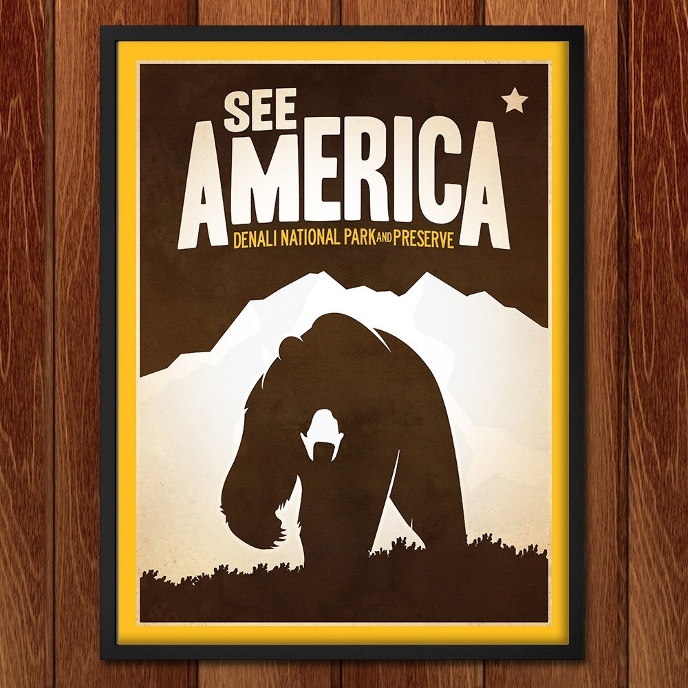 Denali National Park and Preserve by Matt Brass for See America - 2