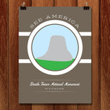Devils Tower National Monument by Brandon Kish for See America - 1