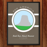 Devils Tower National Monument by Brandon Kish for See America - 2