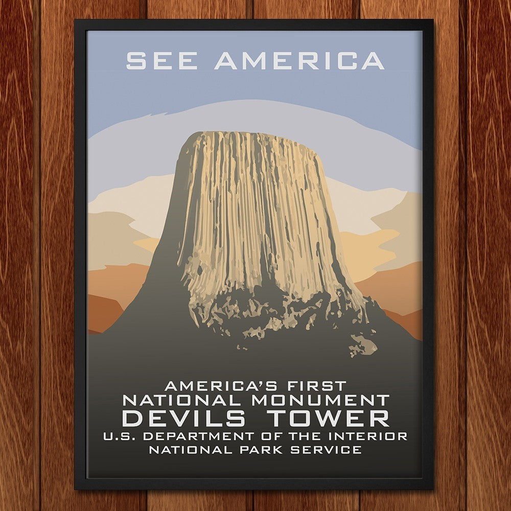 Devils Tower National Monument by Chad Snoke for See America - 2