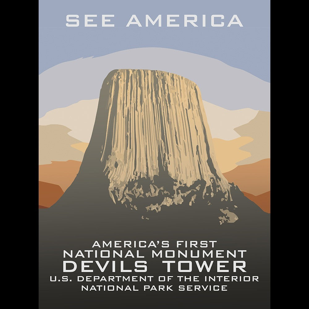 Devils Tower National Monument by Chad Snoke for See America - 3