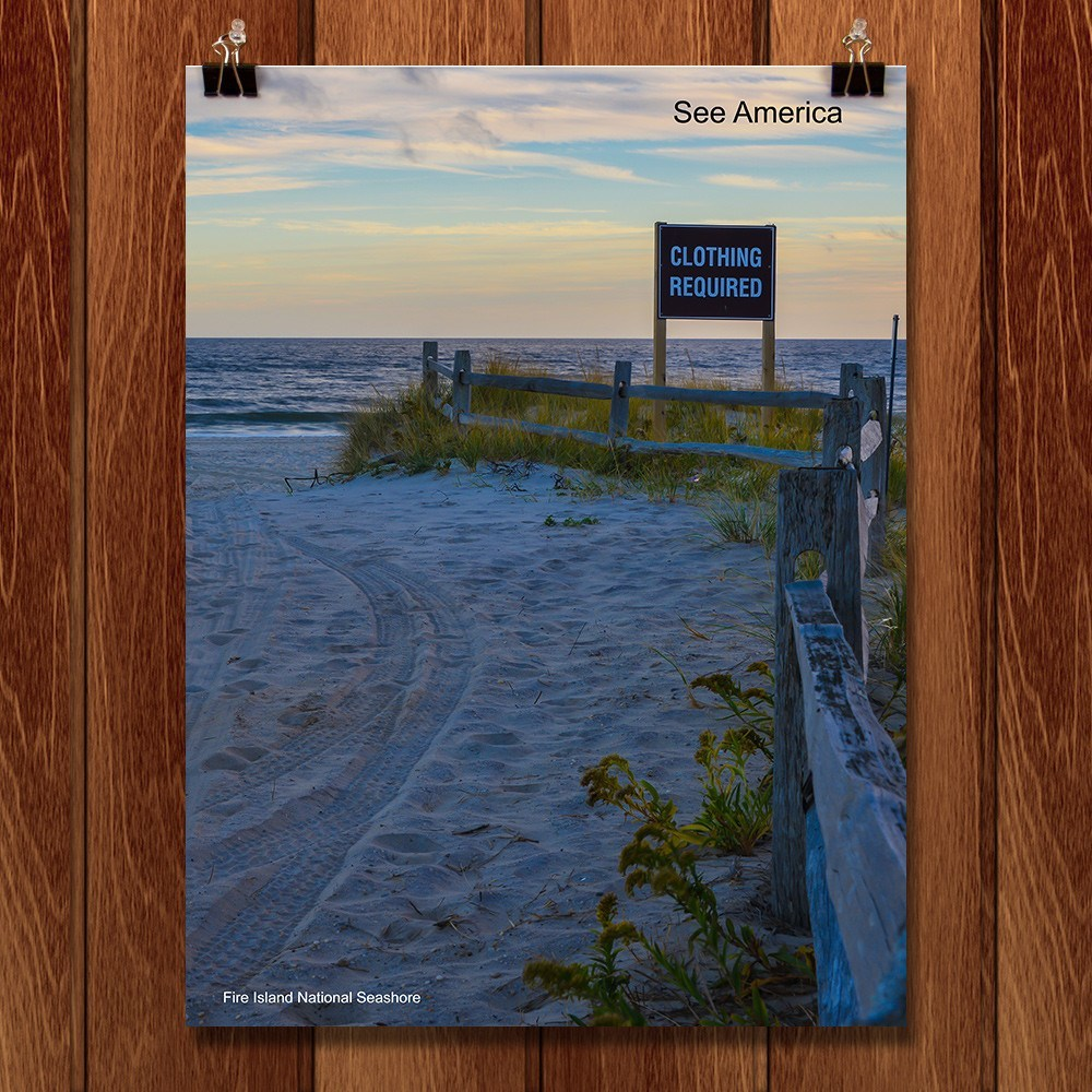 Fire Island National Seashore by Mac Titmus for See America - 1