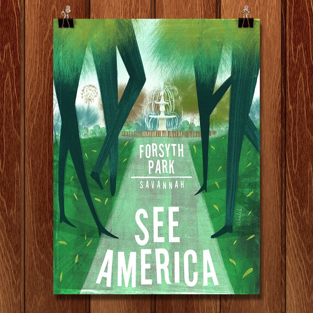 Forsyth Park by Sawsan Chalabi for See America - 1