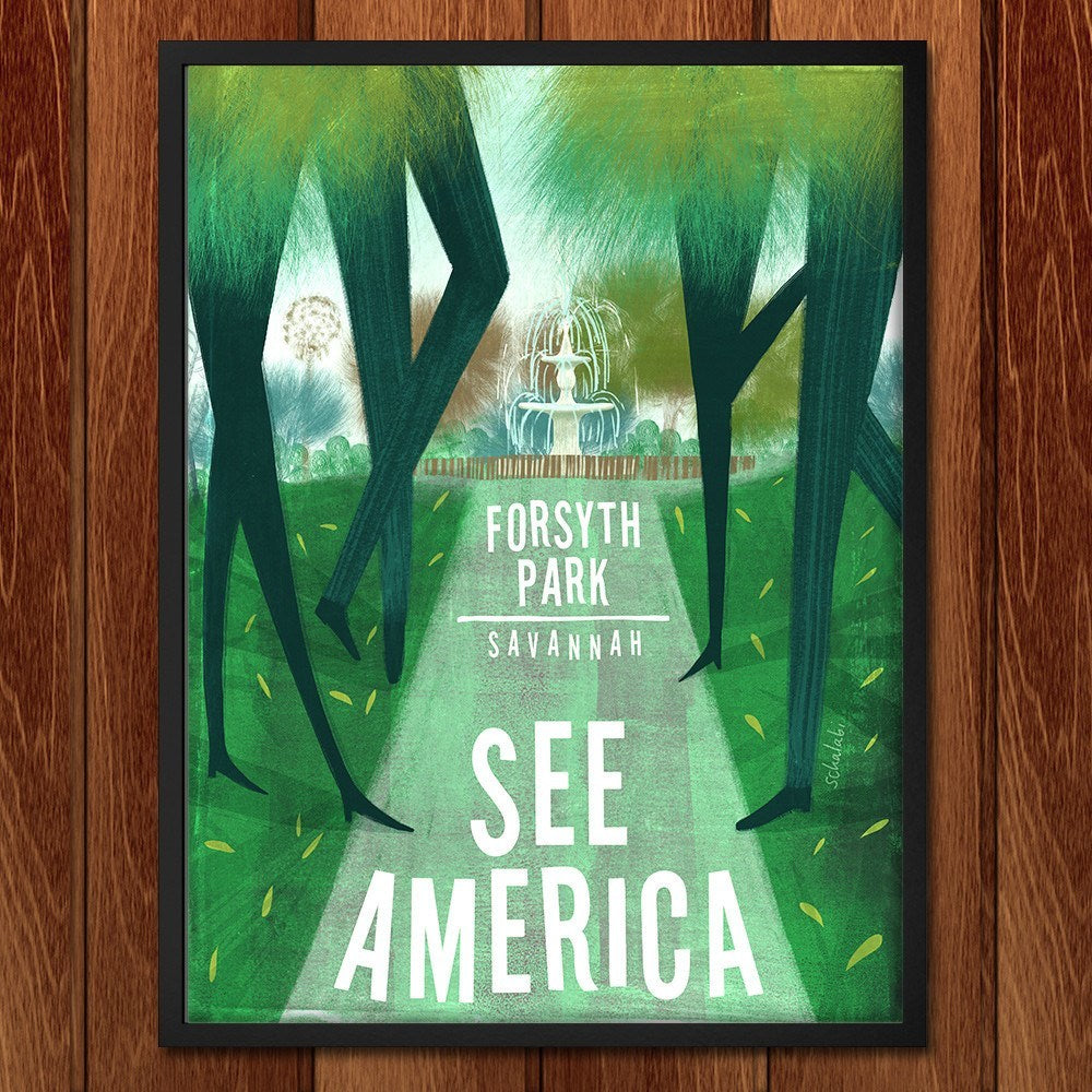 Forsyth Park by Sawsan Chalabi for See America - 2