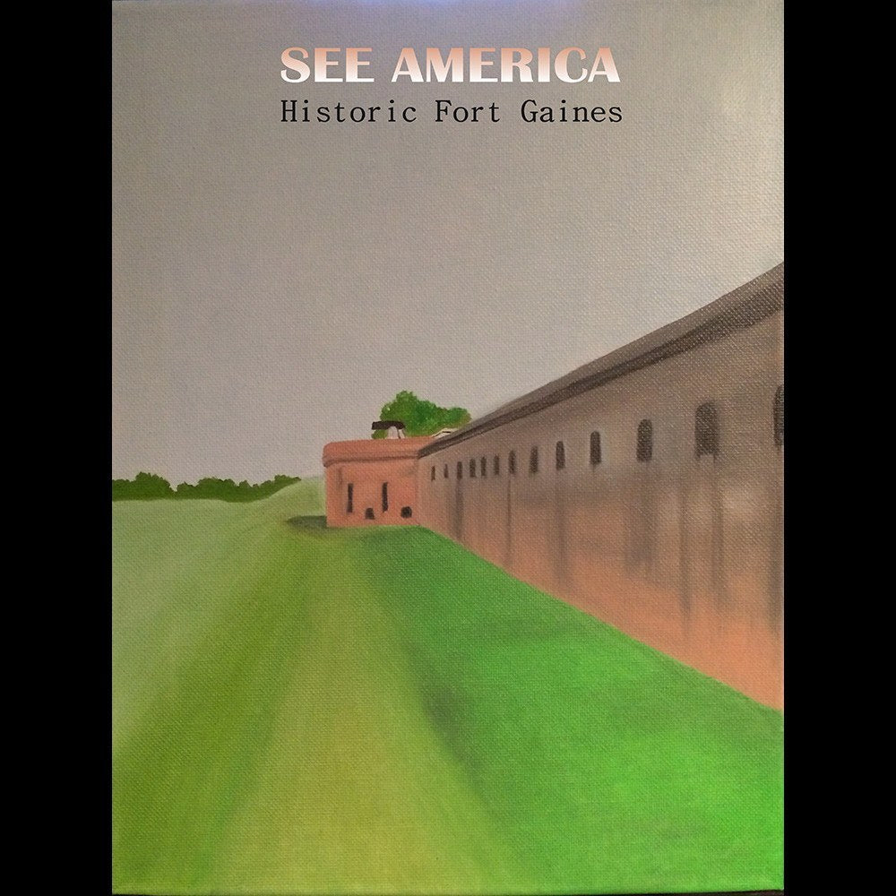 Fort Gaines Historic Site by Bryan Bromstrup for See America - 3