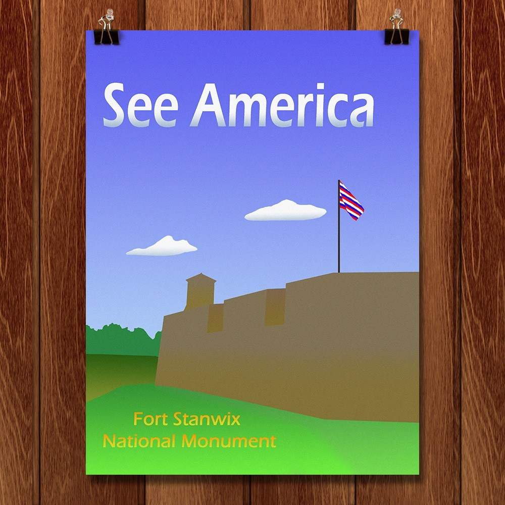 Fort Stanwix National Monument by Ludlowfan for See America - 1